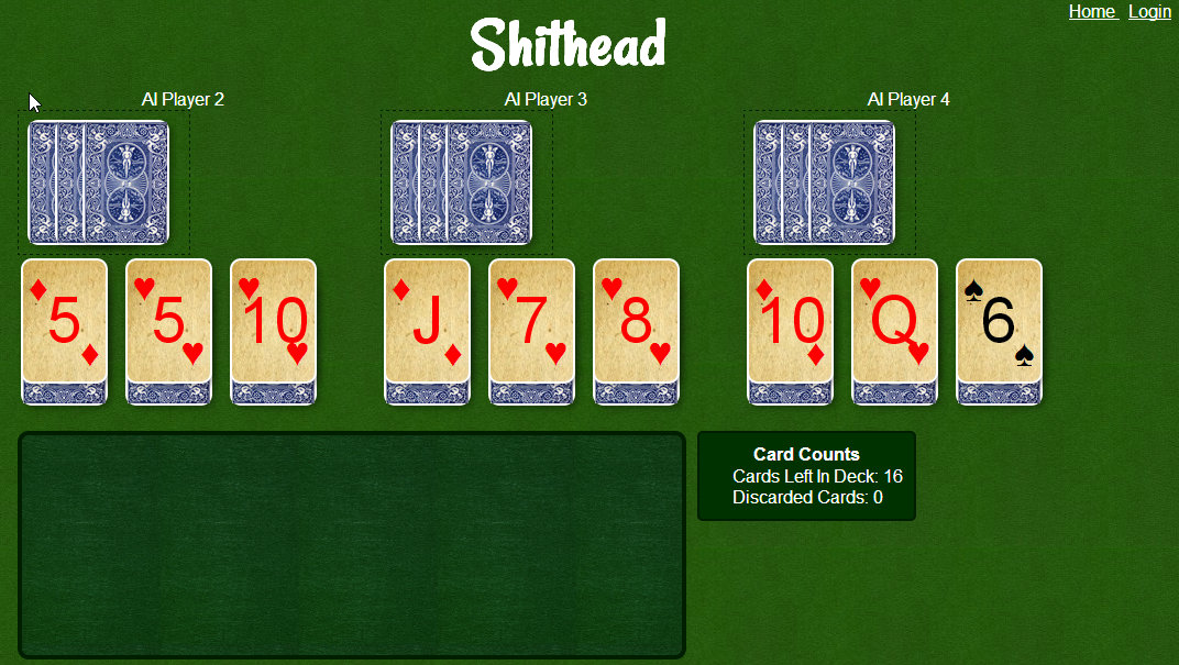 play the best online shithead card game