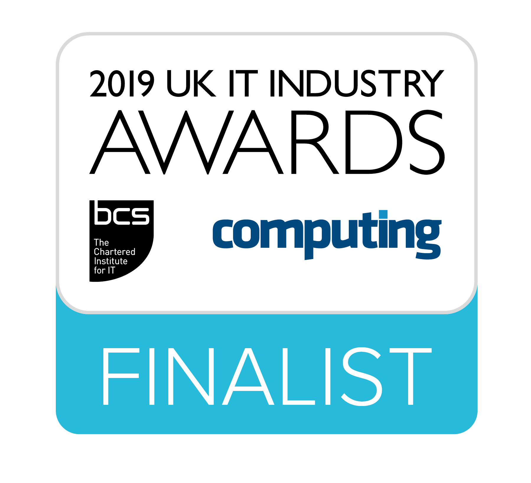 2019 UK IT Industryt Awards Finalist